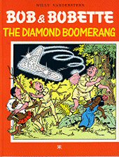 cover: Bob & Bobette - The Diamond Boomerang