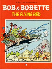 cover: Bob & Bobette - The Flying Bed