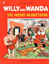 cover: Willy and Wanda - The Merry Musketeers