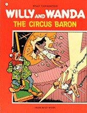 cover: Willy and Wanda - The Circus Baron