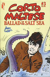 cover: Corto Maltese: Ballad Of The Salt Sea #3