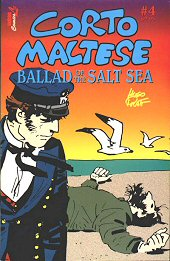 cover: Corto Maltese: Ballad Of The Salt Sea #4