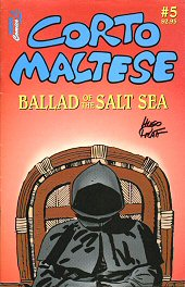 cover: Corto Maltese: Ballad Of The Salt Sea #1