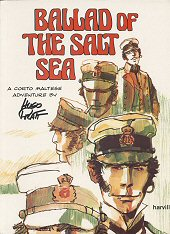 cover: Corto Maltese - Ballad of the Salt Sea