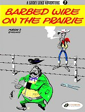 cover: Lucky Luke - Barbed Wire on the Prairie