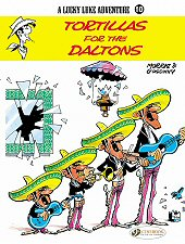 cover: Lucky Luke - Tortillas for the Daltons