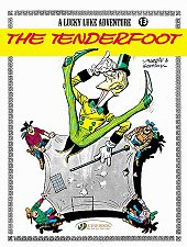 cover: Lucky Luke - The Tenderfoot