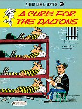 cover: Lucky Luke - A Cure for the Daltons