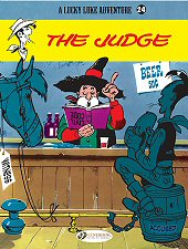 cover: Lucky Luke - The Judge