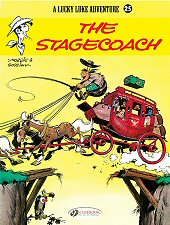 cover: Lucky Luke - The Stagecoach