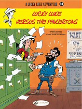 cover: Lucky Luke - Lucky Luke Versus the Pinkertons