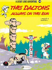 cover: Lucky Luke - The Daltons Always on the Run