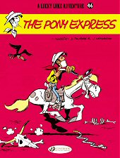 cover: Lucky Luke - The Pony Express