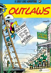 cover: Lucky Luke - Outlaws