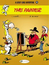 cover: Lucky Luke - The Painter