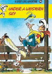 cover: Lucky Luke - Under a Western Sky