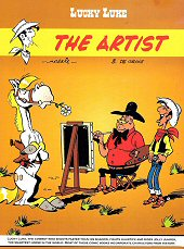 cover: Lucky Luke - The Artist