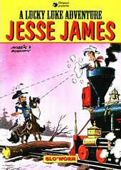 cover: Lucky Luke - Jesse James