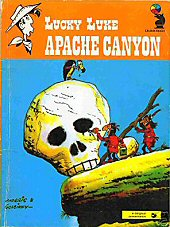 cover: Lucky Luke - Apache Canyon