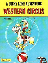 cover: Lucky Luke - Western Circus