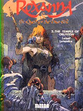 cover: Roxanna & the Quest for the Time Bird - The Temple of Oblivion