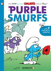 cover: The Purple Smurfs
