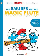 cover: The Smurfs and the Magic Flute