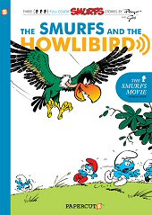 cover: The Smurfs and the Howlibird
