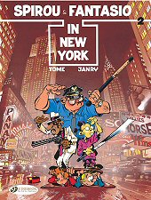 cover: Spirou & Fantasio in New York