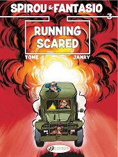 cover: Spirou & Fantasio - Running Scared