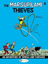 cover: Spirou & Fantasio - The Marsupilami Thieves