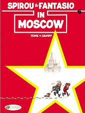 cover: Spirou & Fantasio in Moscow