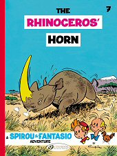 cover: Spirou & Fantasio - The Rhinoceros' Horn