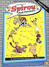 cover: Spirou and Fantasio - The Robot Blueprints and Four Other Stories