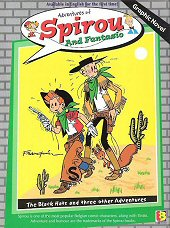 cover: Spirou and Fantasio - The Black Hats and Three Other Adventures