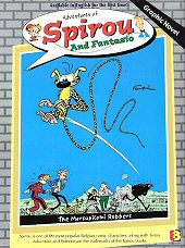 cover: Spirou and Fantasio - The Marsupilami Robbers