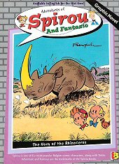 cover: Spirou and Fantasio - The Horn of The Rhinoceros