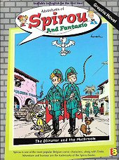 cover: Spirou and Fantasio - The Dictator and The Mushroom