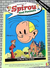 cover: Spirou and Fantasio - A Head for Crime