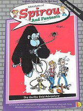 cover: Spirou and Fantasio - The Gorilla Gold Adventure