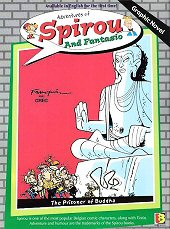 cover: Spirou and Fantasio - The Prisoner of Buddha