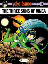 cover: Yoko Tsuno - The Three Suns of Vinea